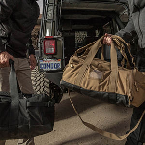 condor, colossus, any situation, duffle, duffel bag