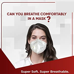 Super Soft Super Breathable breathe easy stay protected anti pollution anti dust for men and women