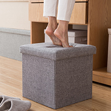 storage ottoman bench pouffe footstool foot rest ottoman storage bench small large capacity durable