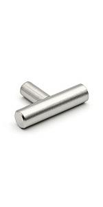 Brushed Nickel Knobs