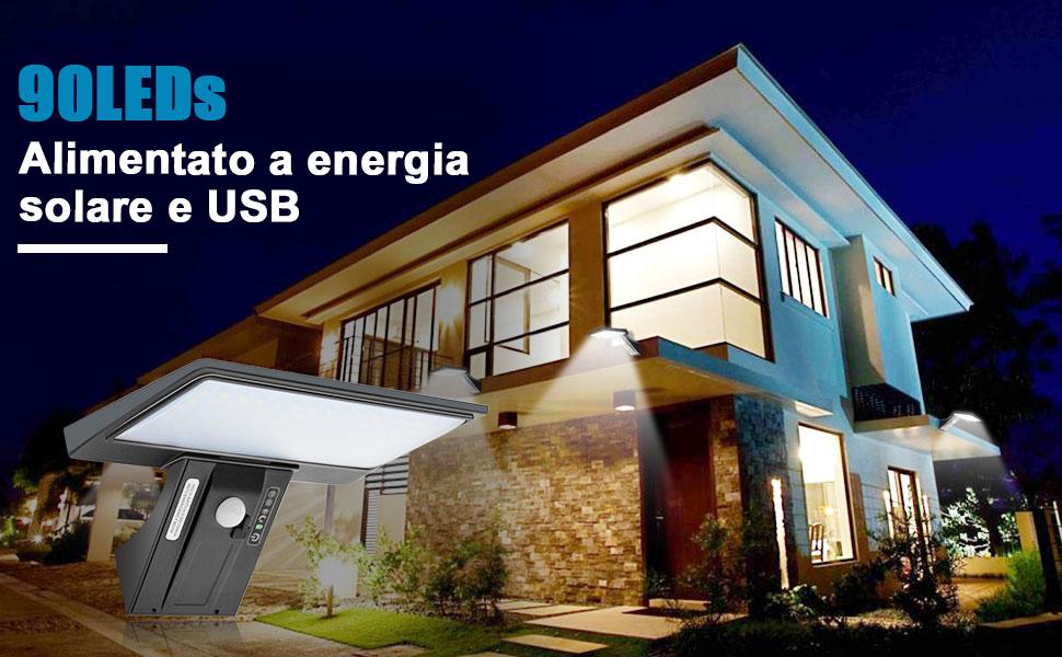 jesled-luce-solare-con-90-led-lampada-solare-da-e