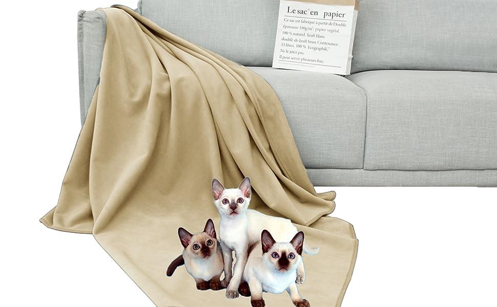 Dog bed blanket