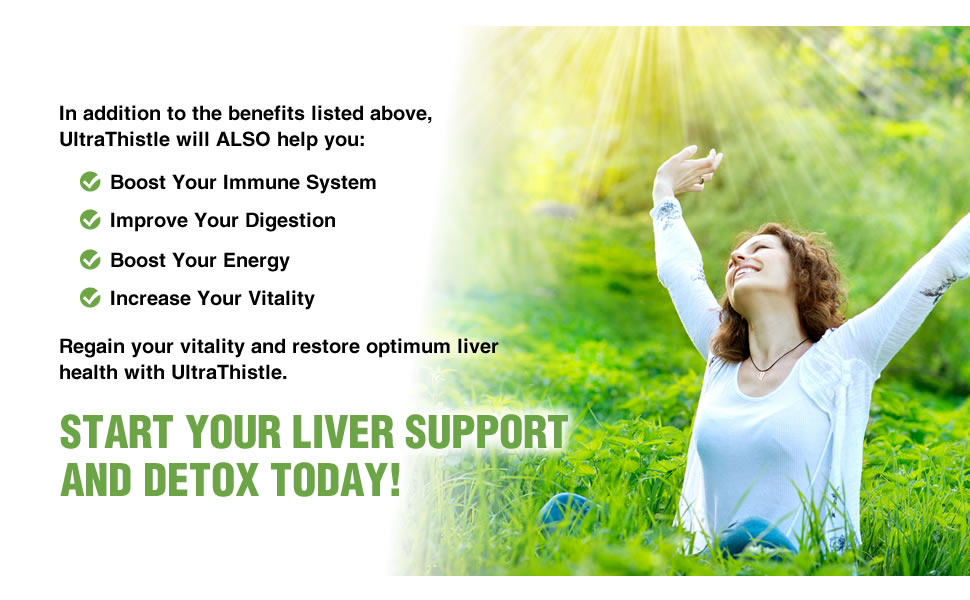 liver support ultra thistle milk thistle capsules boost immune system improve digestion energy