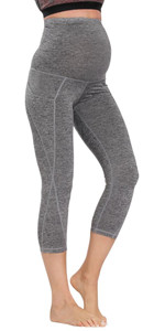 Maternity WorkOut Capris with Pockets