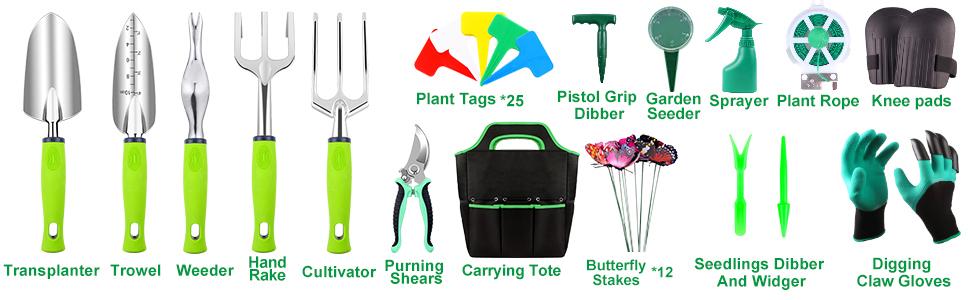 complete garden tool set