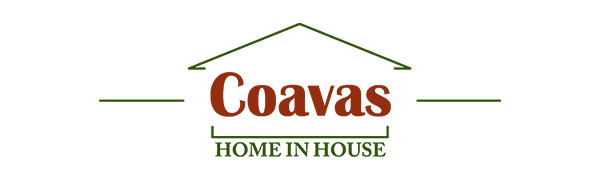 Coavas Kitchen Dining Table White Round Coffee Table Modern Leisure