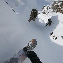 hypersmooth snowboarding