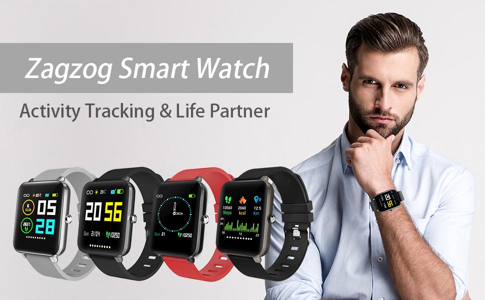 Zagzog Smart Watch