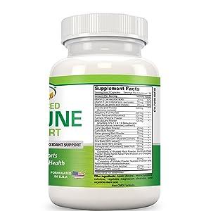 Gold Banner Immune Support Supplement Facts
