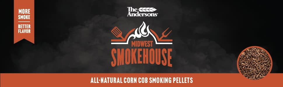 The Andersons Midwest Smokehouse All-Natural Corn Cob Smoking Pellets