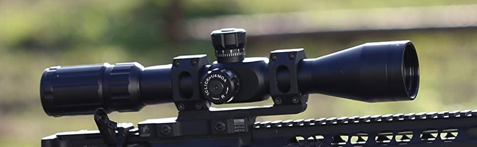 Primary Arms Silver Series 4-14x 44mm FFP Rifle Scope - Illuminated ACSS HUD DMR-5.56 Reticle