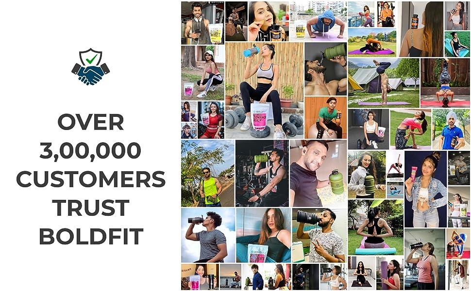 Boldfit Customers