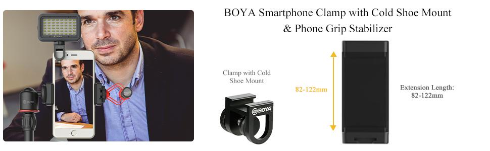boya by-mm1 camera smartphone video recording microphone