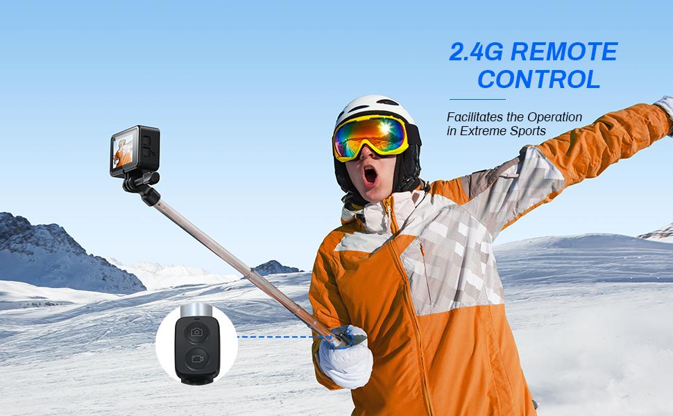 action camera  4K dual screen gopro