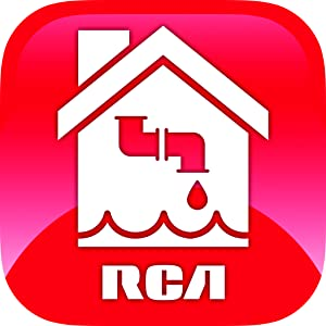 RCA water leak detector laundry room washing machine stop leak flooding prevention