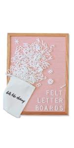 12 x 16 felt letter board