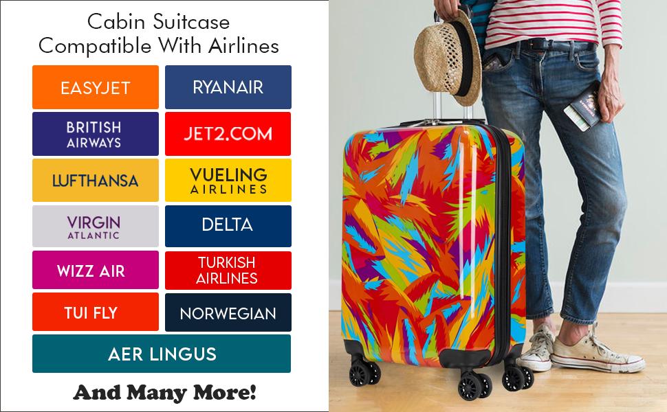 virgin atlantic suitcase