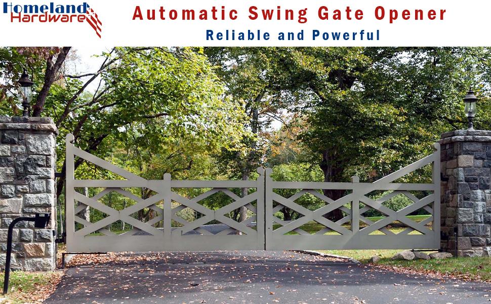 Homeland Hardware Automatic Swing Gate Opener