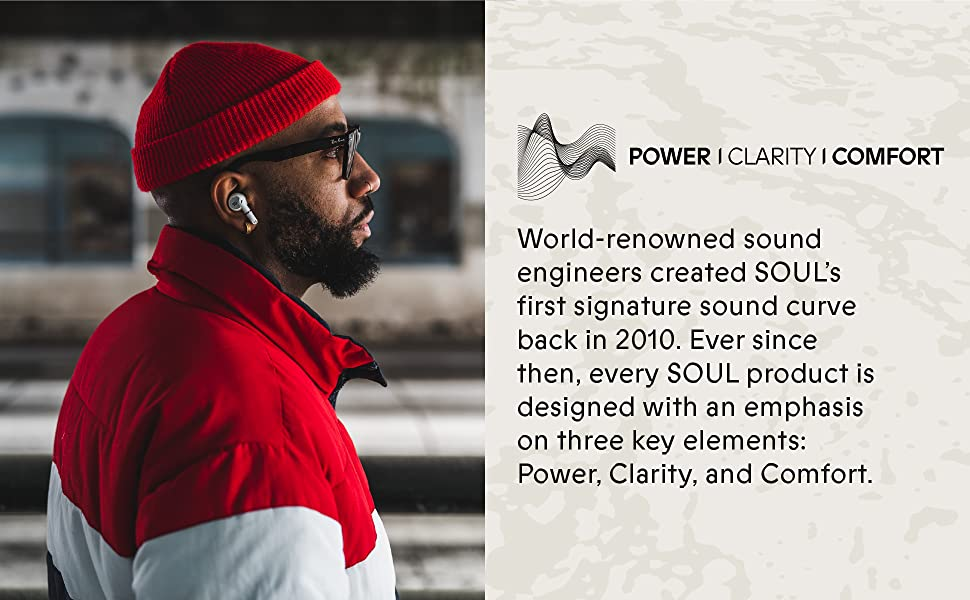 SOUL, headphones, high quality, performance, headphones, earbuds, music, ergonomic, wireless, music