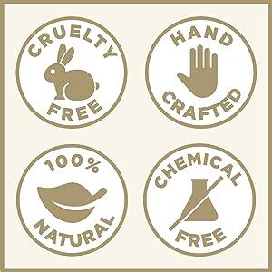 Vanilla Brown Sugar Face and Body Scrub Organic Ingredients