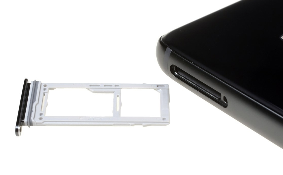 MMOBIEL Bandeja de Tarjeta SIM/SD Compatible con Samsung Galaxy S9 G960 / S9 Plus G965 (Purple) Incl. Sim Pin: Amazon.es: Electrónica