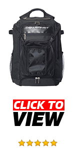 PowerNet XL Backpack has designated compartments for your gear.