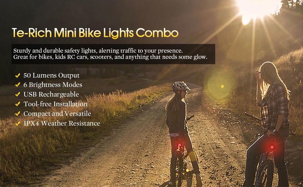 bike lights rechargeable