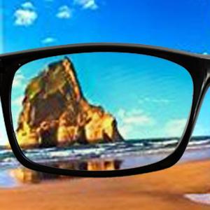 block glasses