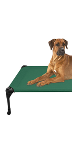 elevated dog bed pet cot cat bed cover cooling bolster pet bed raised waterproof
