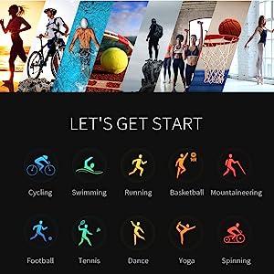 sport mode watch swimming running climbing health exercise watch