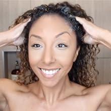 massage shampoo into your scalp