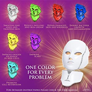 LED Mask, Face Mask, Skin Care,