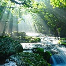 筑紫山地水源