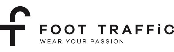 foot traffic logo socks novelty foottraffic
