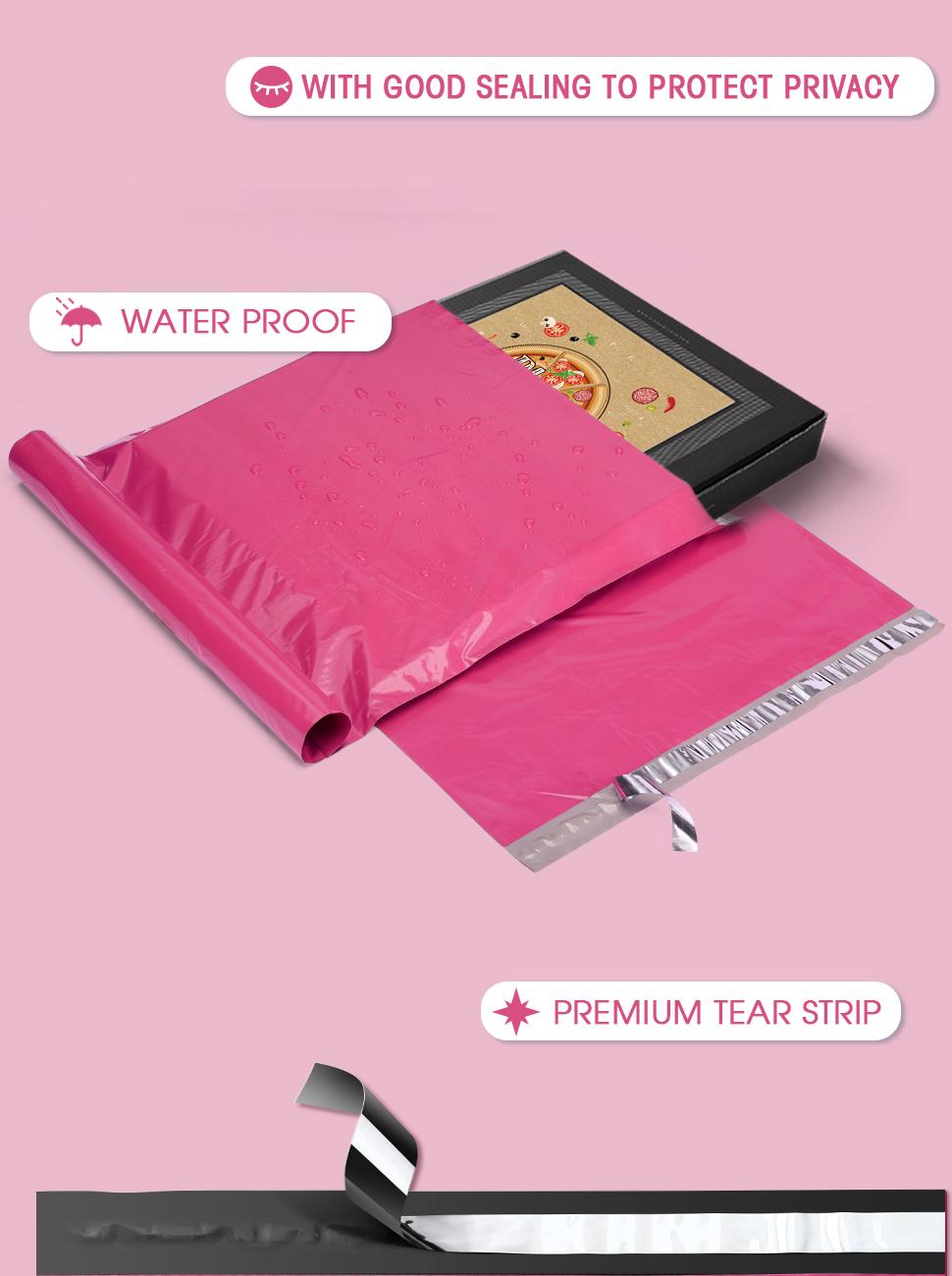 10x13 pinks mailers