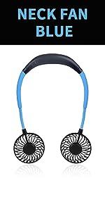blue neck fan