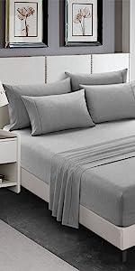 soft bed sheet set