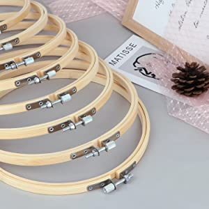 Bamboo Hoops