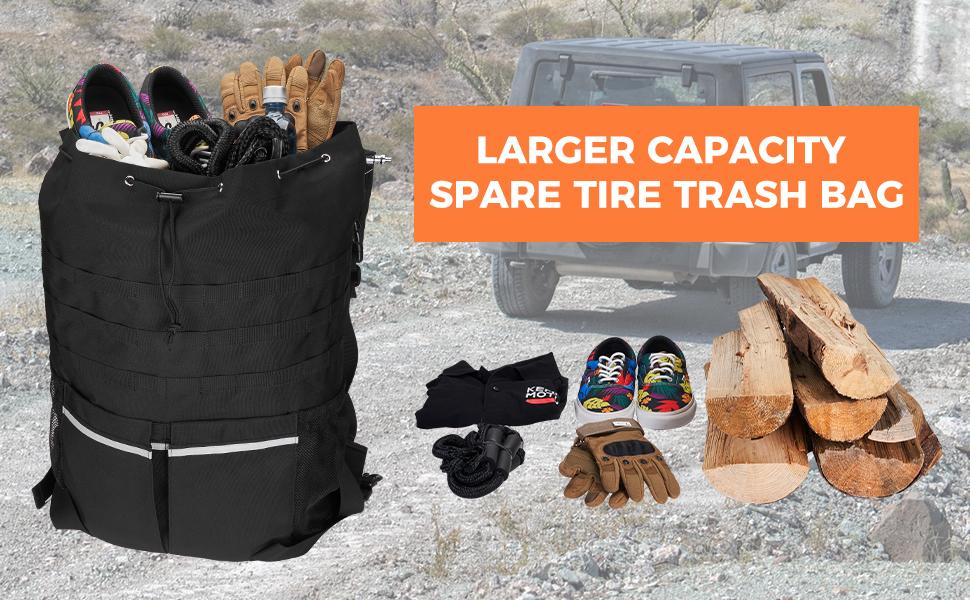 Spare Tire Trash Bag