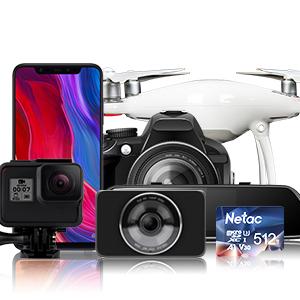 micro sd nintendo switch, Android smartphone de todas marcas, tableta grafica, dron, camara, dashcam