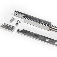 Wood lathe parting tool