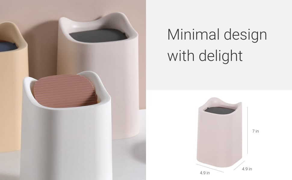 minimal design with delight