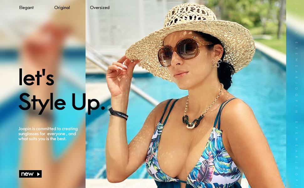 joopin oversized sunglasses for women H9045