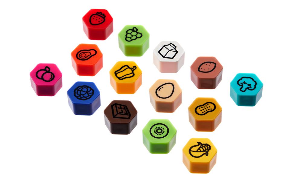 磁石  マグネット 冷蔵庫 磁石 かわいい マグネット  かわいい磁石  楽しいマグネット  フルーツ磁石  メニュー磁石  かわいい冷蔵庫用磁石  キッチンマグネット カラフル ビーズケット