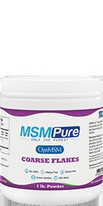 MSM Coarse Powder Flakes