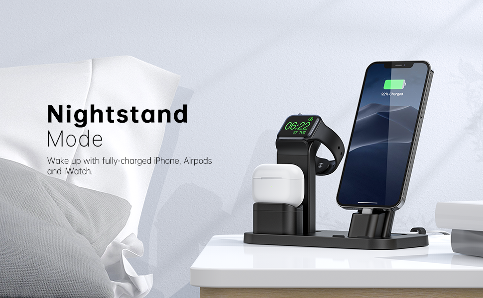 Sleeping Assistant Multiple Apple Charging Stand