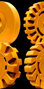 4-VViViD-brand-soft-rubber-eraser-wheels
