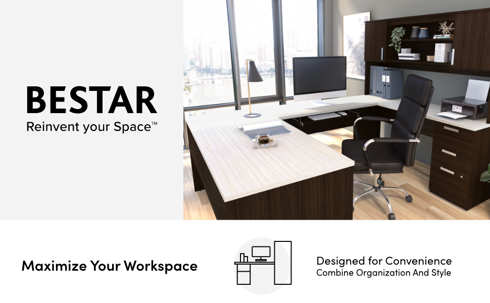 """Bestar's Logo and motto: """"Reinvent your space"""""""