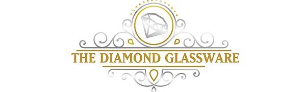 the diamond glassware