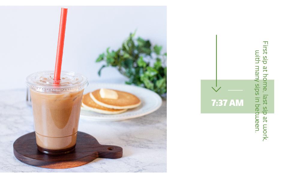 plastic cups with lids flat lids breakfast coffee